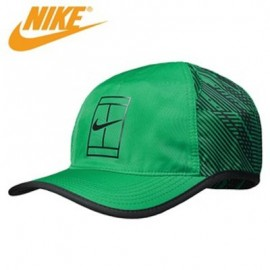 Kšiltovka Nike Court AeroBill Tennis Hat green/black