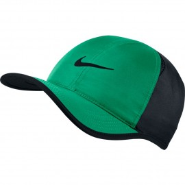Kšiltovka NIKE Featherlight STADIUM GREEN/BLACK
