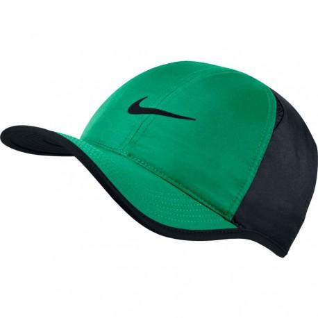 Kšiltovka NIKE Featherlight STADIUM GREEN/BLACK