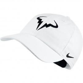 Tenisová kšiltovka Nike Rafa AeroBill H86 WHITE