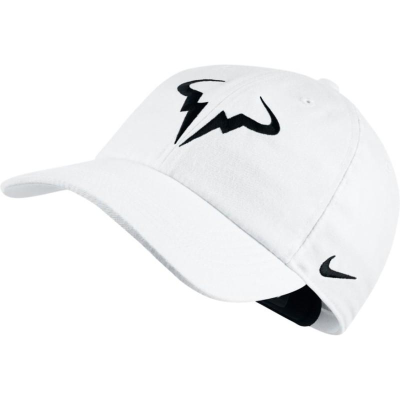 89ed61ce6d9 Tenisová kšiltovka Nike Rafa AeroBill H86 WHITE - Tenissport Březno