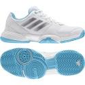 Dětská tenisová obuv adidas Barricade Club white
