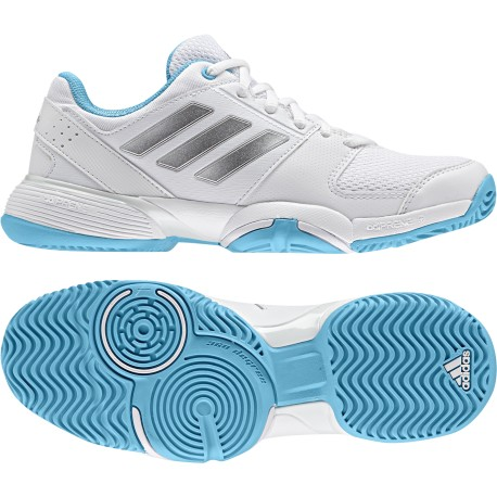 Tenisová obuv adidas Barricade Club junior white/samblu