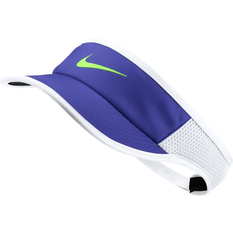 1bda73ee606 ... Kšilt Nike AeroBill Featherlight PARAMOUNT BLUE WHITE BLACK GHOST GREEN