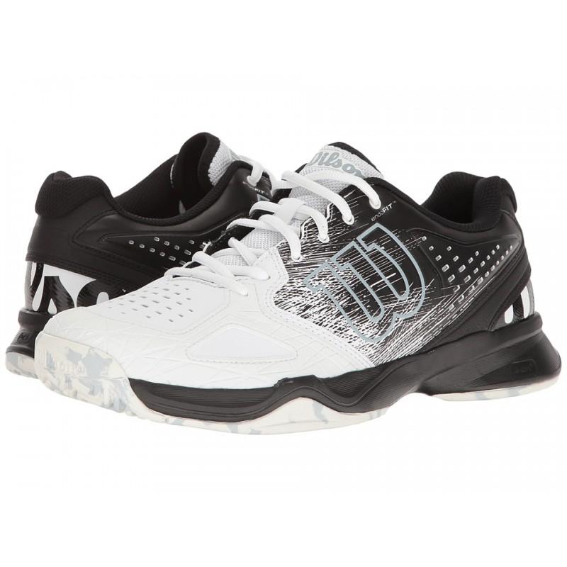 20042a5bc81 Pánská tenisová obuv Wilson Kaos Comp white black - Tenissport Březno