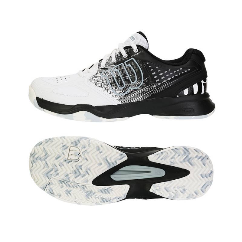 Pánská tenisová obuv Wilson Kaos Comp white black - Tenissport Březno 9363df99058