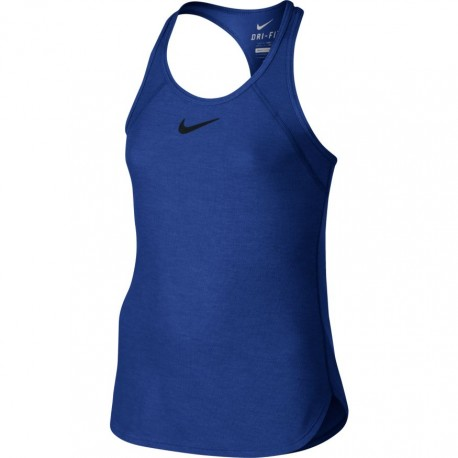Dívčí tenisové tílko Nike Slam COMET BLUE