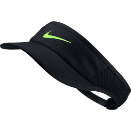 Kšilt Nike AeroBill Featherlight BLACK/GHOST GREEN