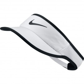 Kšilt Nike AeroBill Featherlight WHITE/BLACK