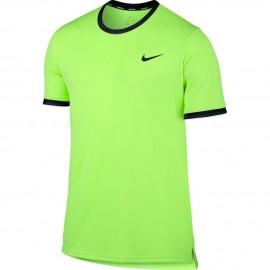 Pánské tenisové tričko Nike Court Dry GHOST GREEN/BLACK