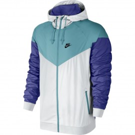 Pánská bunda Nike Windrunner WHITE/MICA BLUE/DEEP NIGHT/BLACK