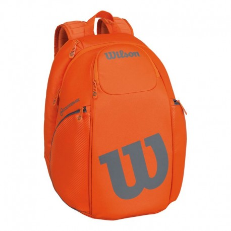 Tenisový batoh Wilson Vancouver orange/grey