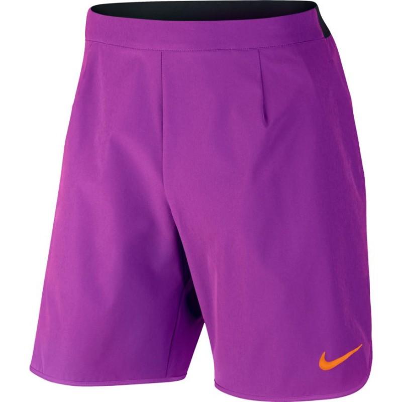 03c322ccc1a Pánské tenisové šortky Nike Court Flex VIVID PURPLE - Tenissport Březno