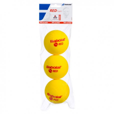 Tenisový pěnový míč Babolat Red Foam / 3 kusy
