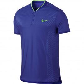 Pánské tenisové tričko Nike Zonal Cooling Advantage Polo PARAMOUNT BLUE/GHOST GREEN