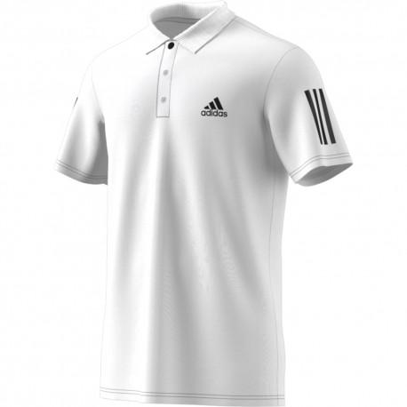 Pánské tenisové tričko adidas Club polo white