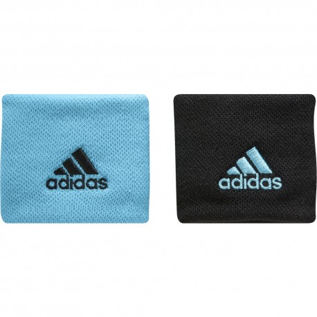 Tenisová potítka adidas Wristband Small samba blue