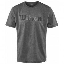 Pánské tenisové tričko Wilson Tech Ebony