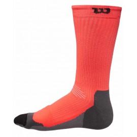 Pánské tenisové ponožky Wilson High-End Crew Orange/grey