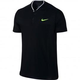 Pánské tenisové tričko Nike ZC Advantage Polo BLACK