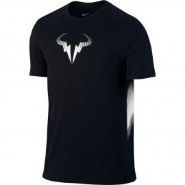 Pánské tenisové tričko Nike Rafa TEE black