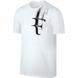 Pánské tenisové tričko Nike RF TEE white
