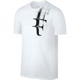 Pánské tenisové tričko Nike RF TEEwhite