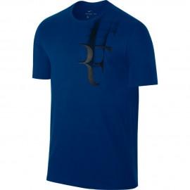 Pánské tenisové tričko Nike RF TEE BLUE JAY