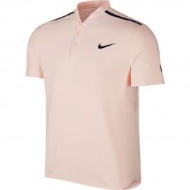 Pánské tenisové tričko Nike RF Advantage Polo SUNSET TINT/MIDNIGHT NAVY