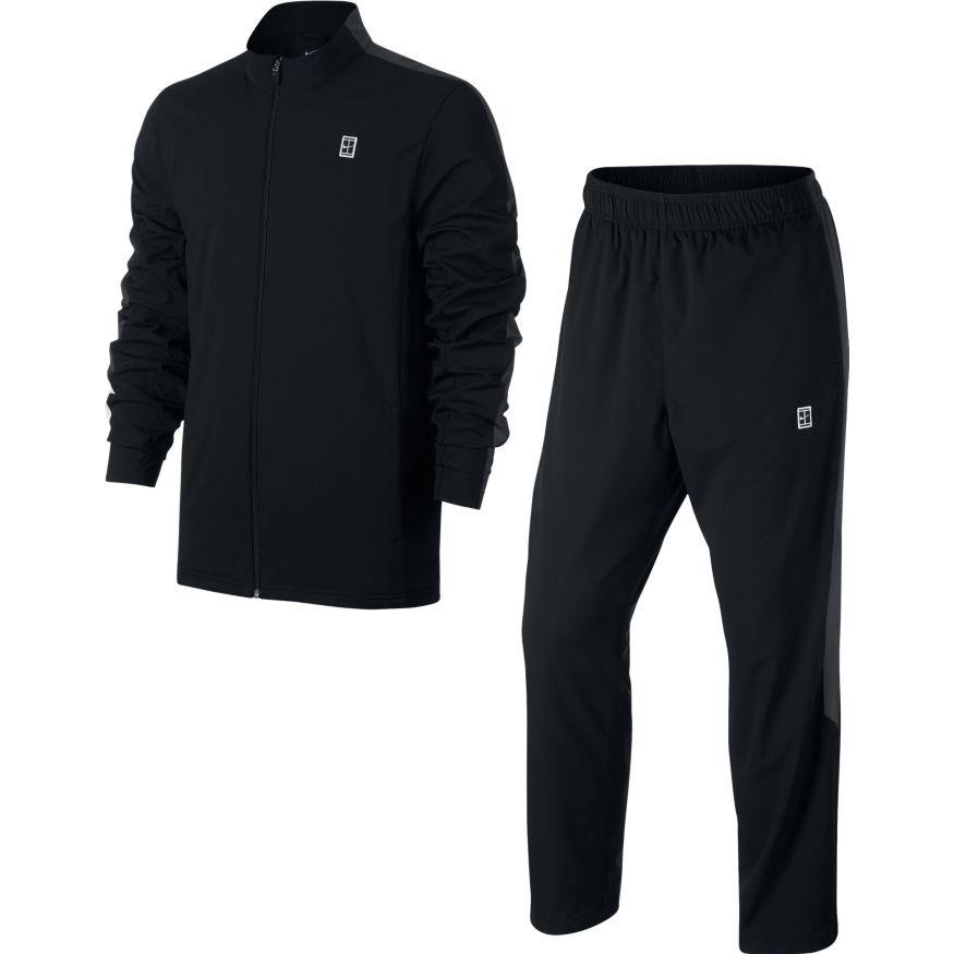 ee9be0dbe9d Pánská souprava Nike Woven Warm-Up Black - Tenissport Březno