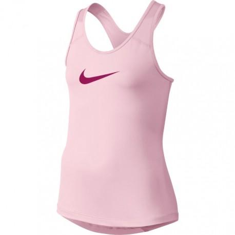 Dívčí tenisové tílko Nike Pro PRISM PINK/SPORT FUCHSIA