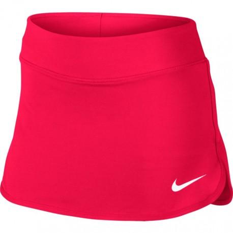 Dívčí tenisová sukně Nike Pure ACTION RED