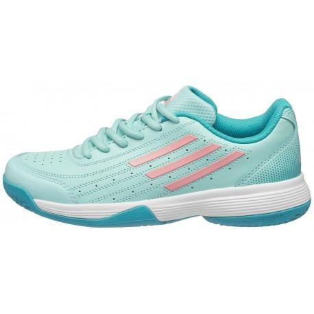Dětská tenisová obuv adidas Sonic Attak K blue/orange