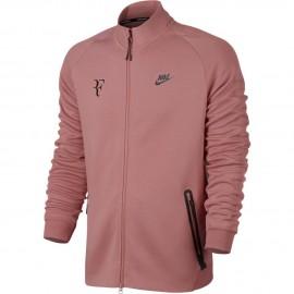 Pánská tenisová mikina Nike PREMIER RF N98 RED STARDUST