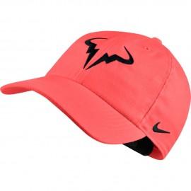 Tenisová kšiltovka Nike Rafa AeroBill H86 HOT PUNCH