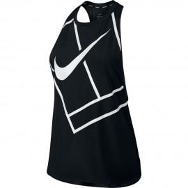 Dámské tenisové tričko Nike Dry Tank black