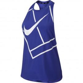 Dámské tenisové tričko Nike Dry Tank PARAMOUNT BLUE/WHITE