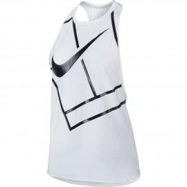 Dámské tenisové tričko Nike Dry Tank WHITE/BLACK