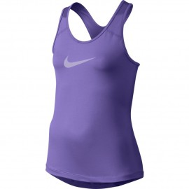 Dívčí tenisové tílko Nike Pro DARK IRIS