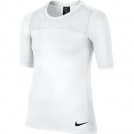 Dívčí tričko Nike Pro Hypercool White