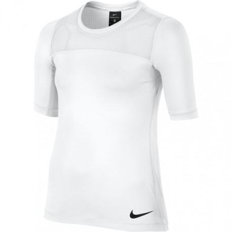 Dívčí tenisové tričko Nike Pro Hypercool White