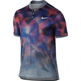 Pánské tenisové tričko Nike Dry Advantage Polo BLUE/PLATINUM
