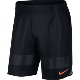 Pánské tenisové šortky Nike Ace US NT BLACK/HOT PUNCH