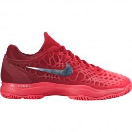 Pánská tenisová obuv Nike Air Zoom Cage 3 Clay DARK GREY-AURORA GREEN
