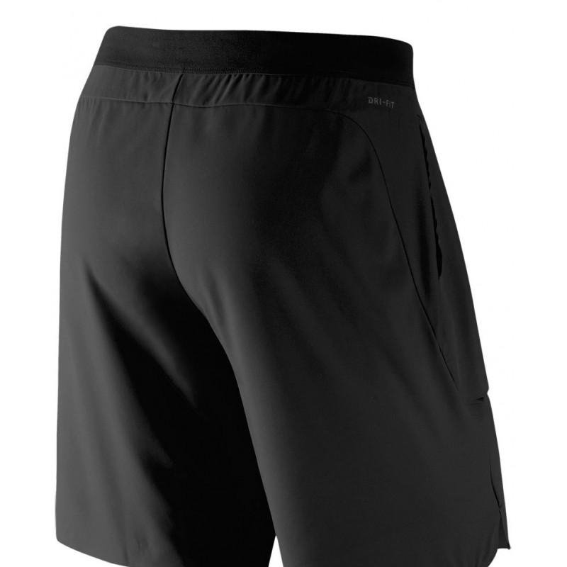 b6c5178cd9f Pánské tenisové šortky Nike RF Flex Ace BLACK - Tenissport Březno
