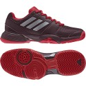 Tenisová obuv adidas Barricade Club junior dark burgundy