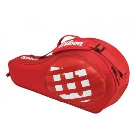 Tenisová taška Wilson Match junior Triple red