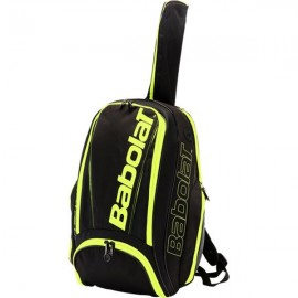 Tenisový batoh Babolat Pure Aero Black Fluo Yellow