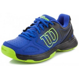 Tenisová obuv Wilson Kaos Comp junior Blue Iris