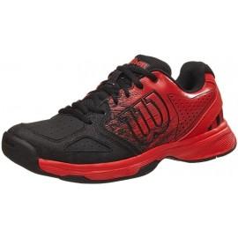 Dětská tenisová obuv Wilson Kaos Comp red/black